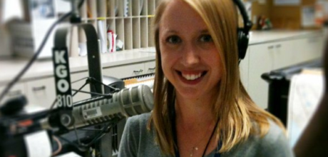 News anchor Kristin Hanes is living aboard a sailboat to make ends meet after getting laid off from her job at KGO.