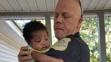 The parents of baby Ma'Yavi Parham have asked Lt. Kenneth Knox to become their daughter's godfather after the officer saved their baby's life.